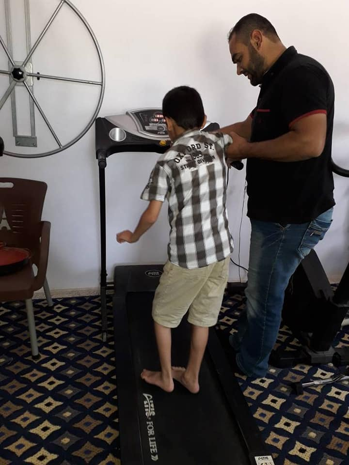 """Physiotherapy Department in """"New Day Center"""" -Idlib"""