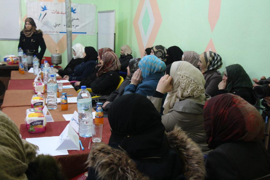 Building A Sytian Foster for Civil Society Organizations Maarret Alnuman3