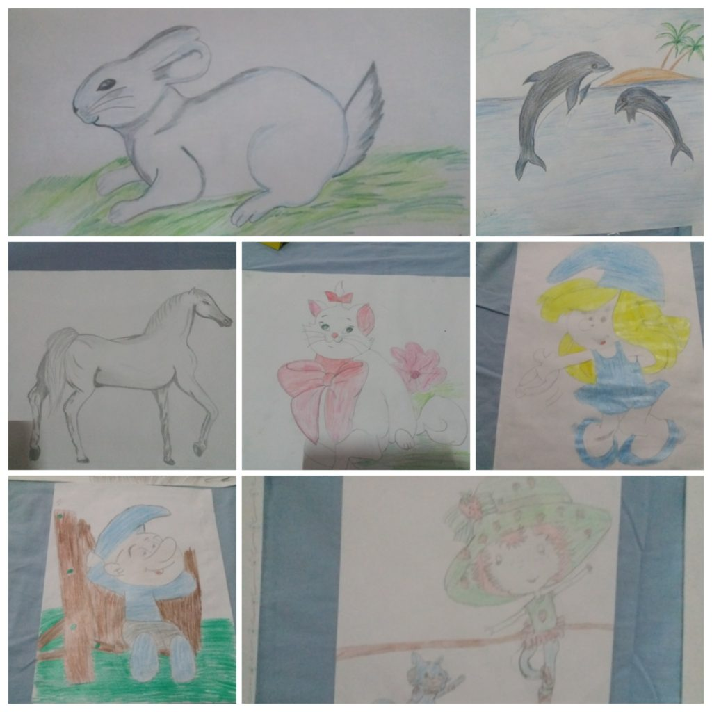 Drawing Exhibition for Children in Has, Idlib3