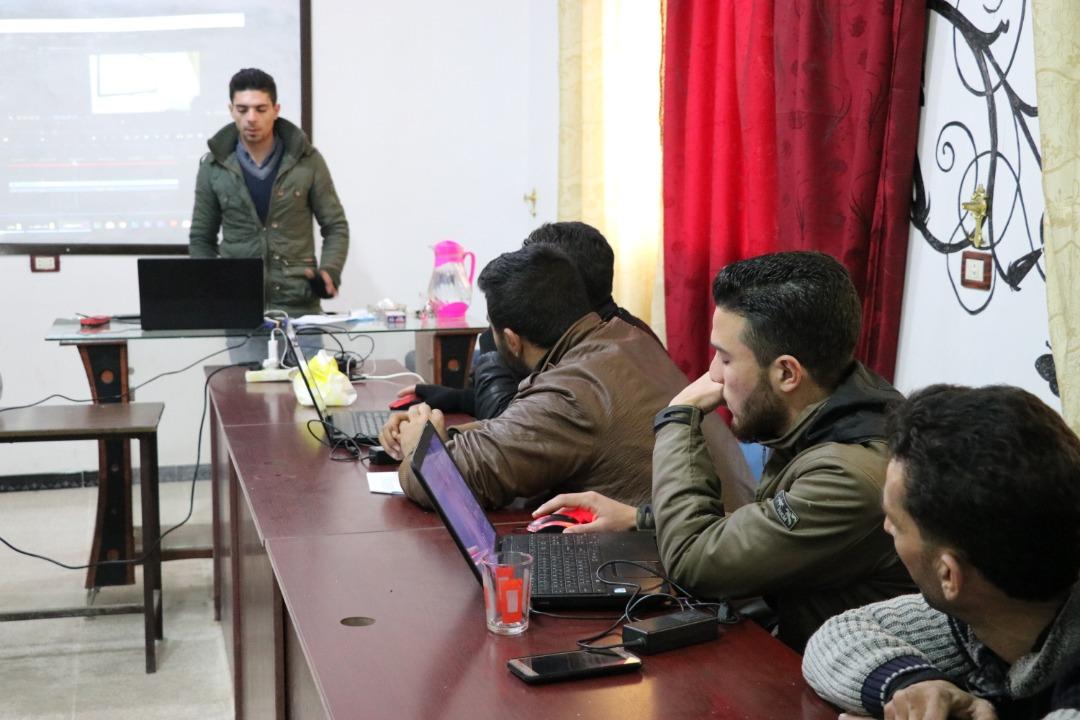 Media Report Preparing Course in Idlib