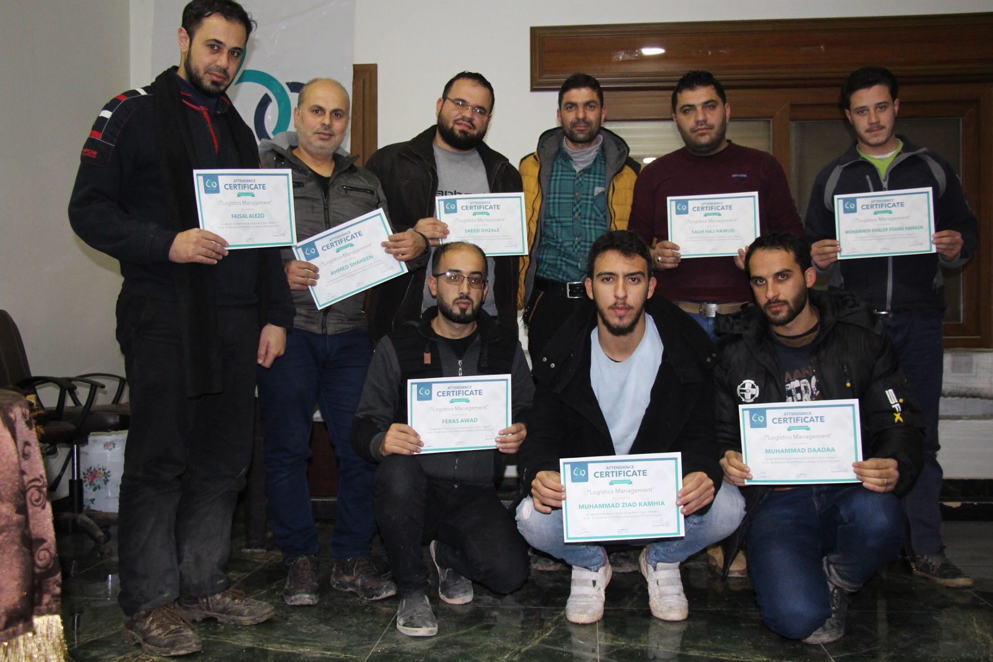 Logistic Management Training in Idlib