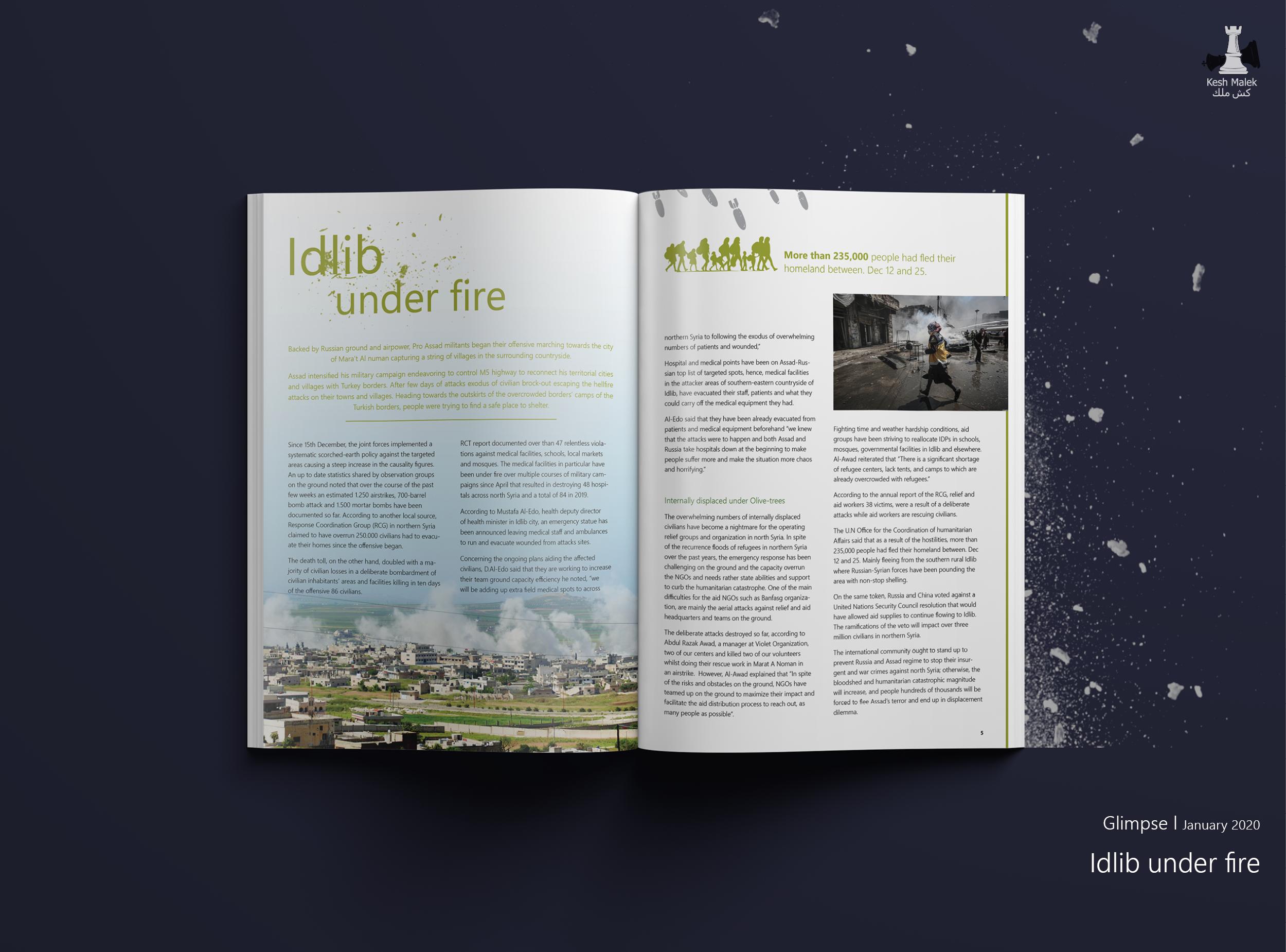 Idlib Under Fire Glimpse