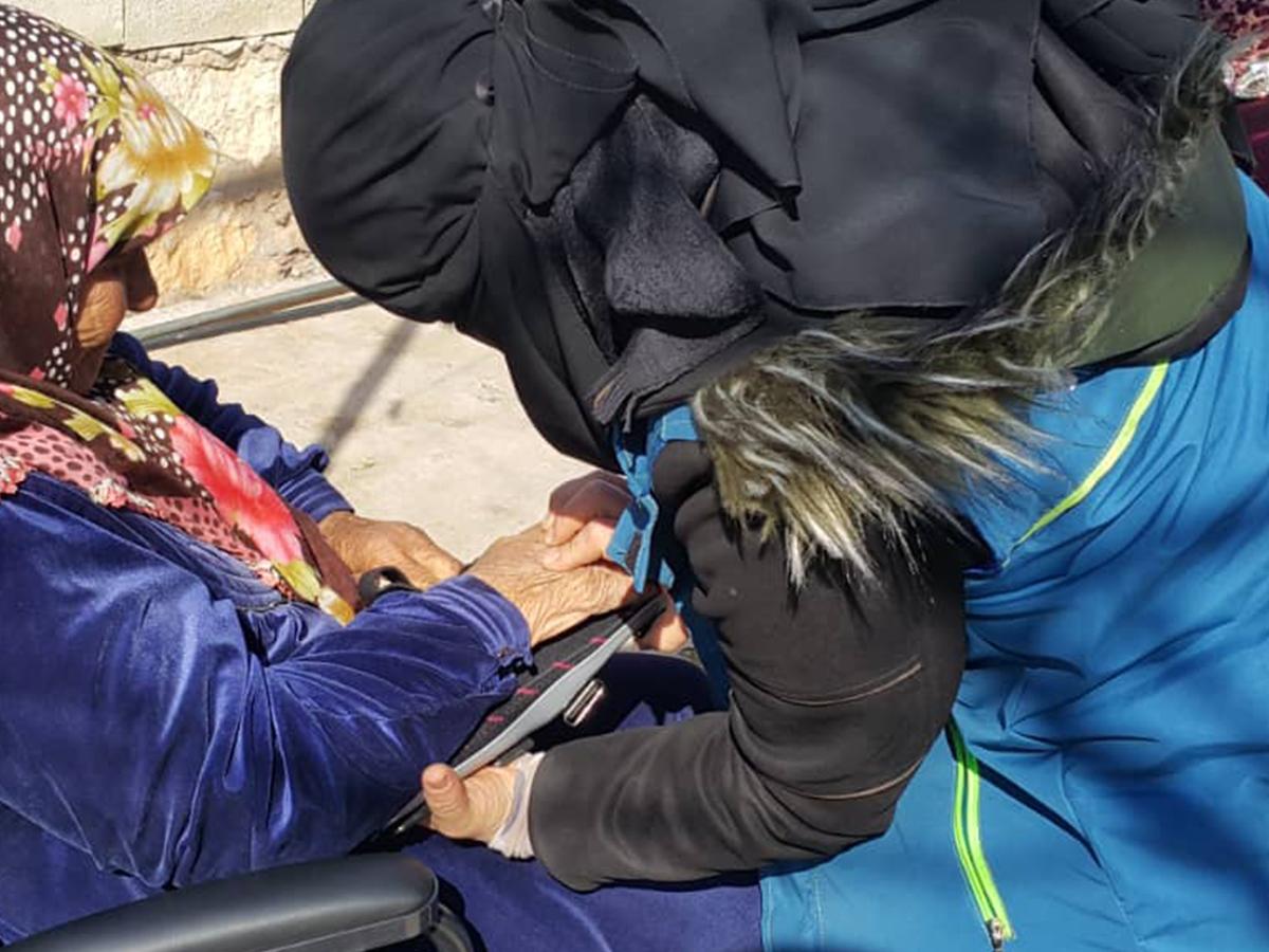Syria    Local Female physiotherapist Volunteer Initiative