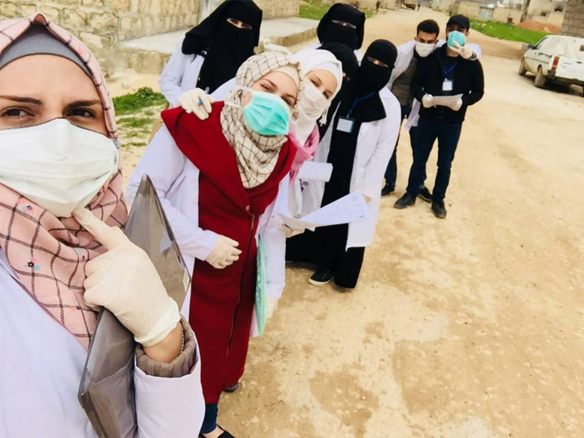 Syria || Youth led awareness campaign Covid-19 virus