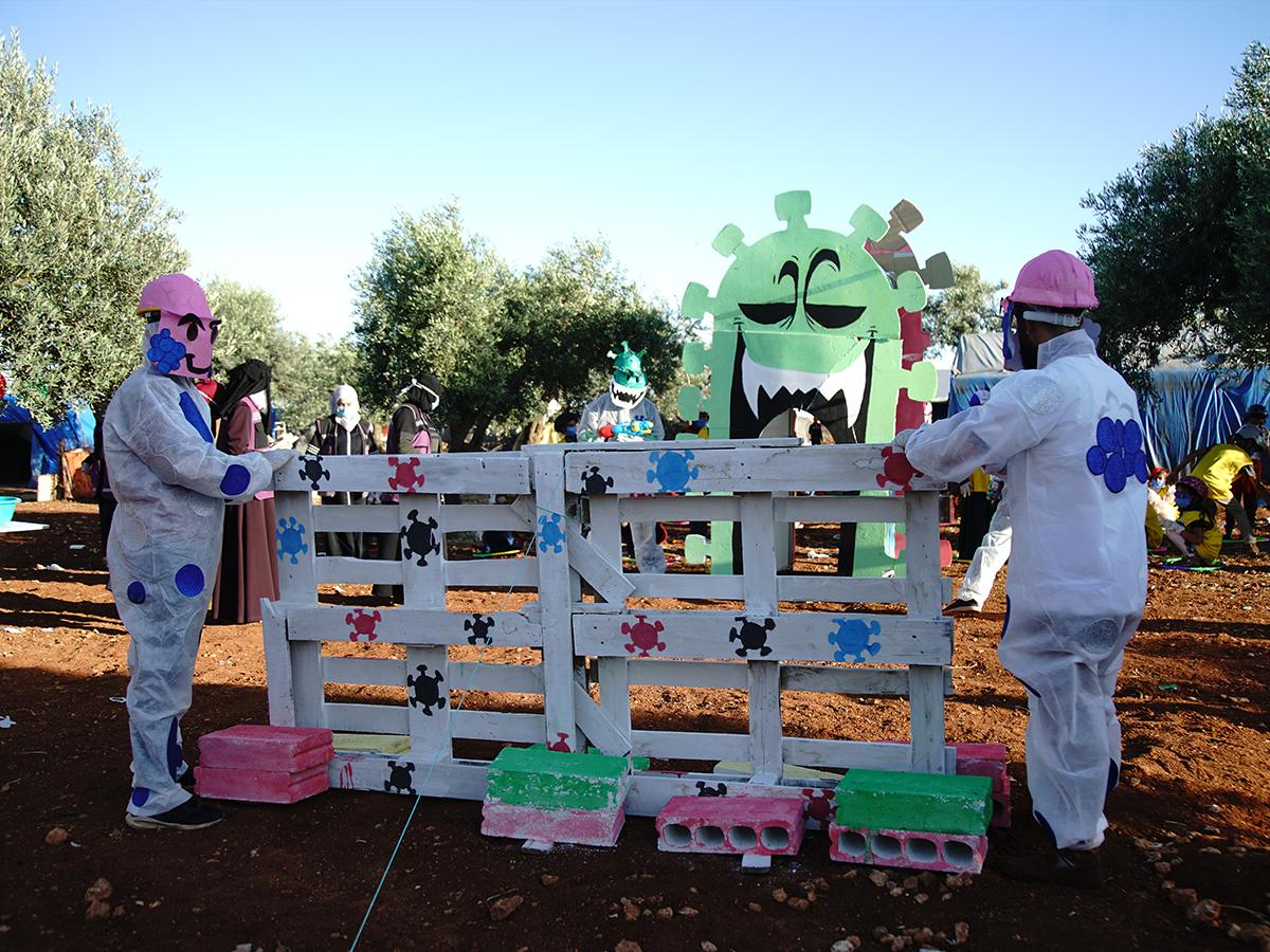 Syria    Corona virus's mini-Olympics
