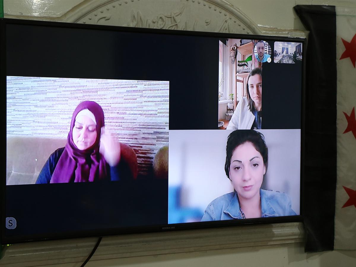 Syria || Journalism workshop – North Syria