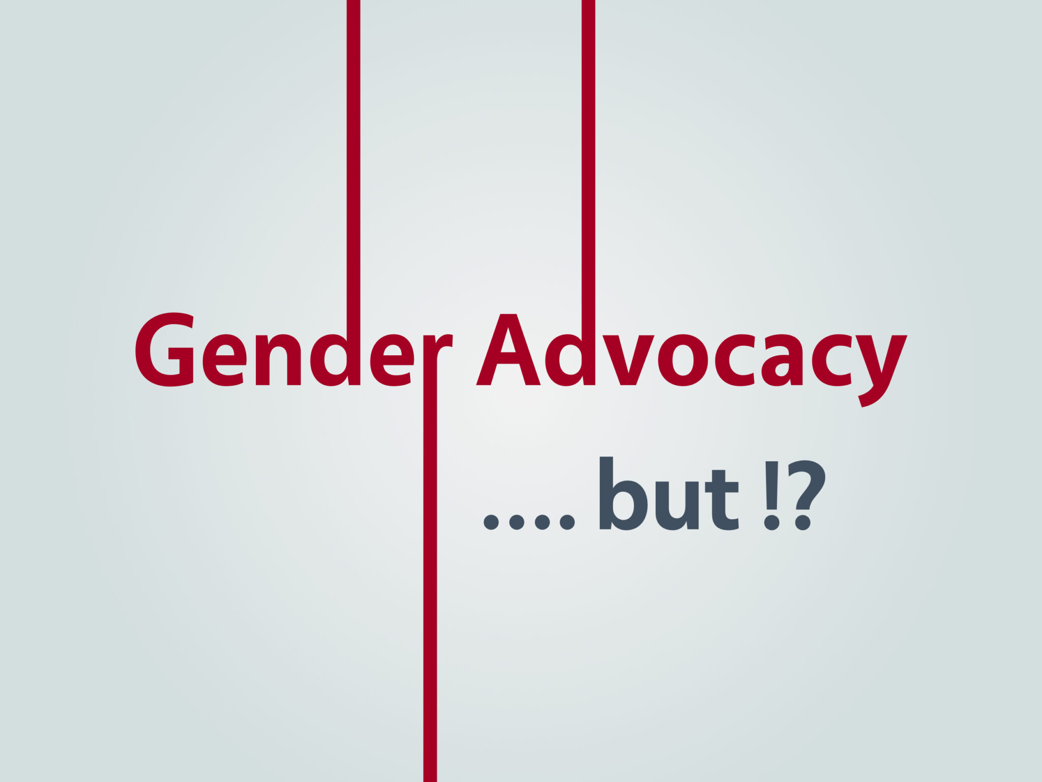 Syria || Gender Advocacy…. but!?